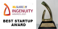 Best Startup Award in SLASSCOM Ingenuity Awards 2021